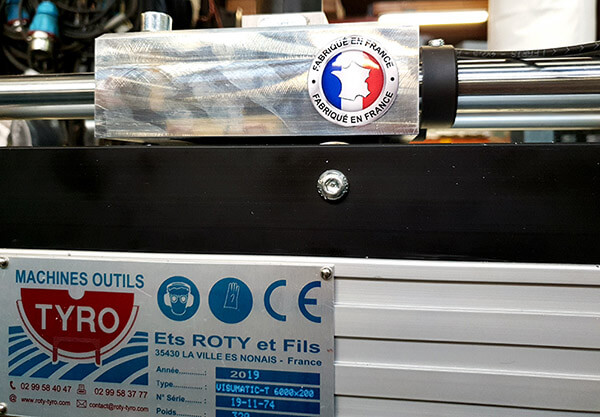 Butée automatique Roty-Tyro