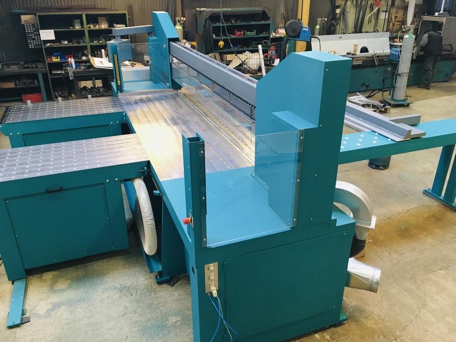 Non ferrous metal cutting
